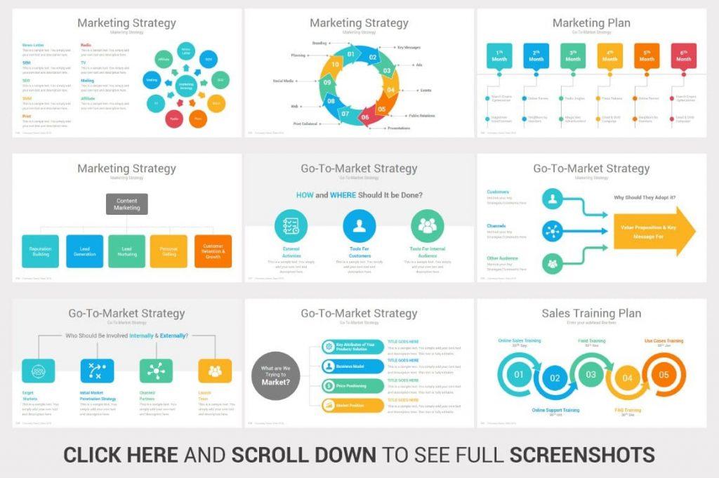 Marketing Strategy Investors PowerPoint Pitch Decks.