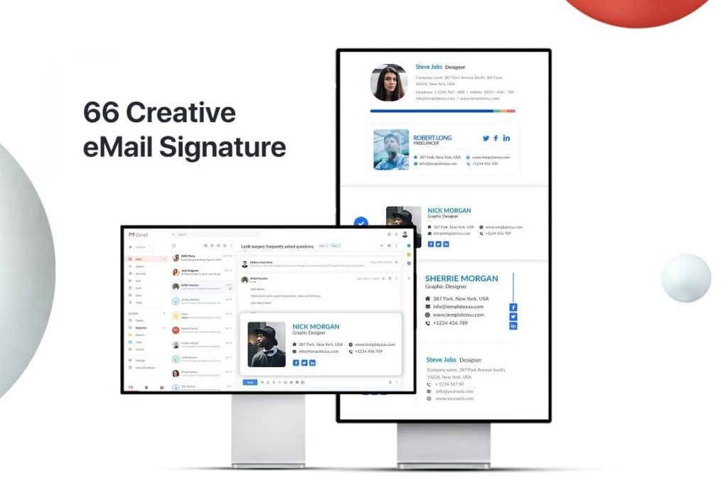 66 Creative InfinityKit Email Signature v1.3.