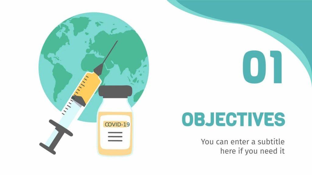 Vaccination Thesis Defense presentation Slide Objectives.