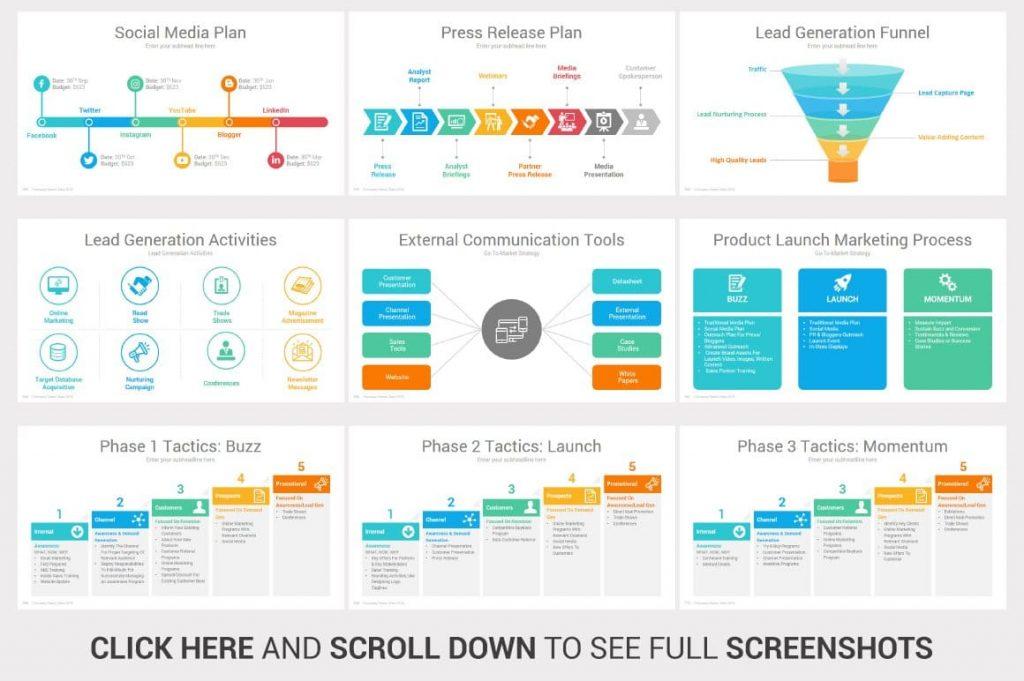 Social Media Plan Investors PowerPoint Pitch Decks.