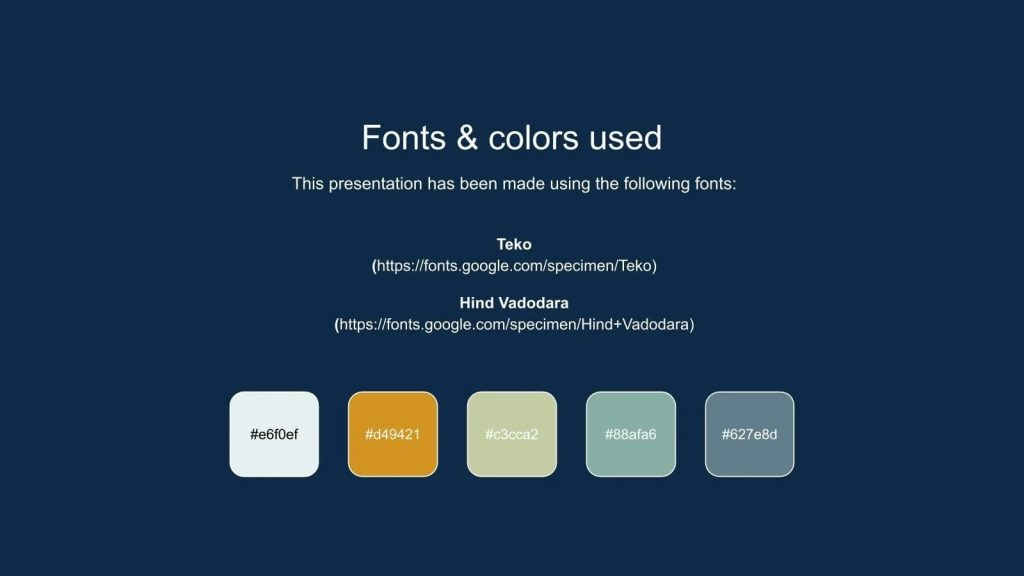 Fonts and Colors for Free Science Fair Newsletter Powerpoint Template.