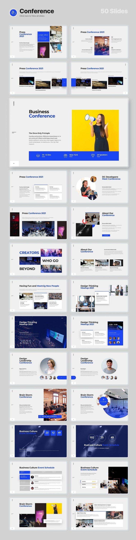 50 slides Conference Voodoo Presentation 4.0.