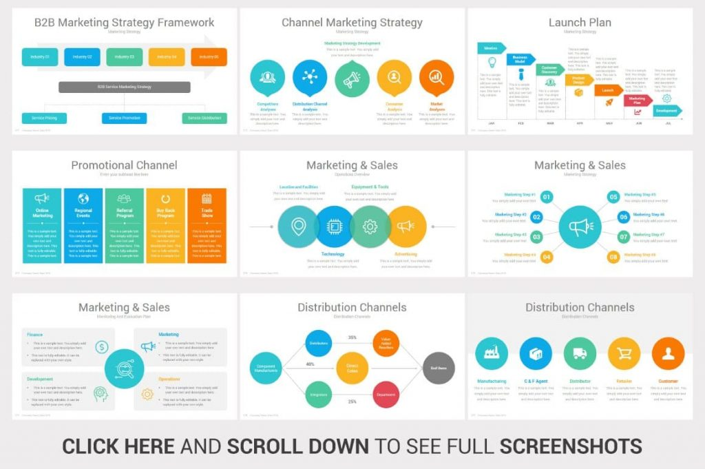 Marketing Investors PowerPoint Pitch Decks slides.