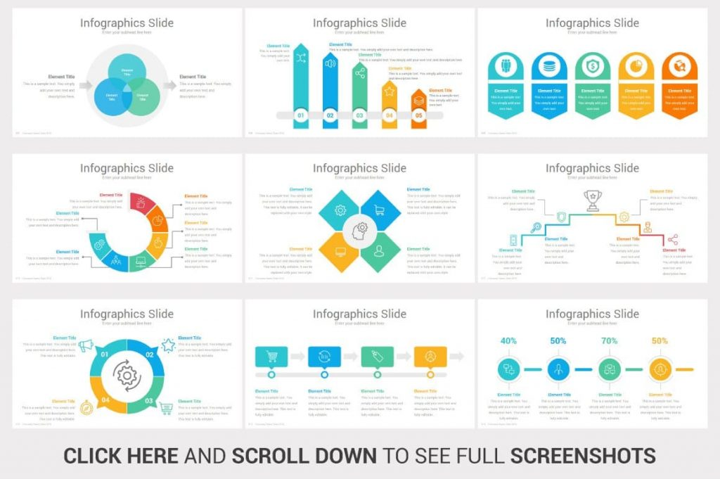 Hand-Crafted Infographics Investors PowerPoint Pitch Decks.