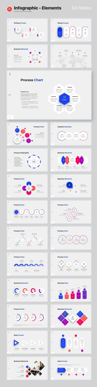 Preview Slides Infographics - Elements of Voodoo Presentation 4.0.