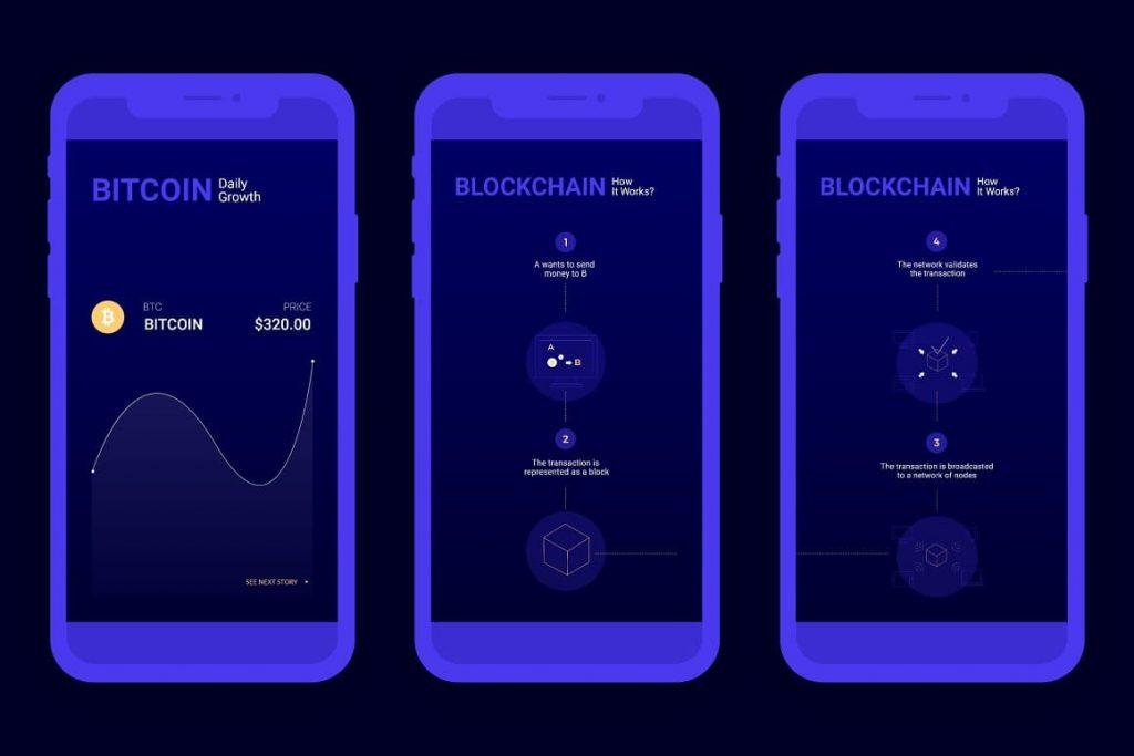 Blockchain Crypto Social Media.