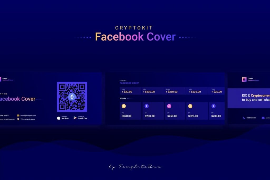 Crypto Facebook Cover Content.