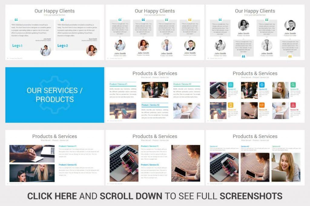 Our Services Investors PowerPoint Pitch Decks slides.