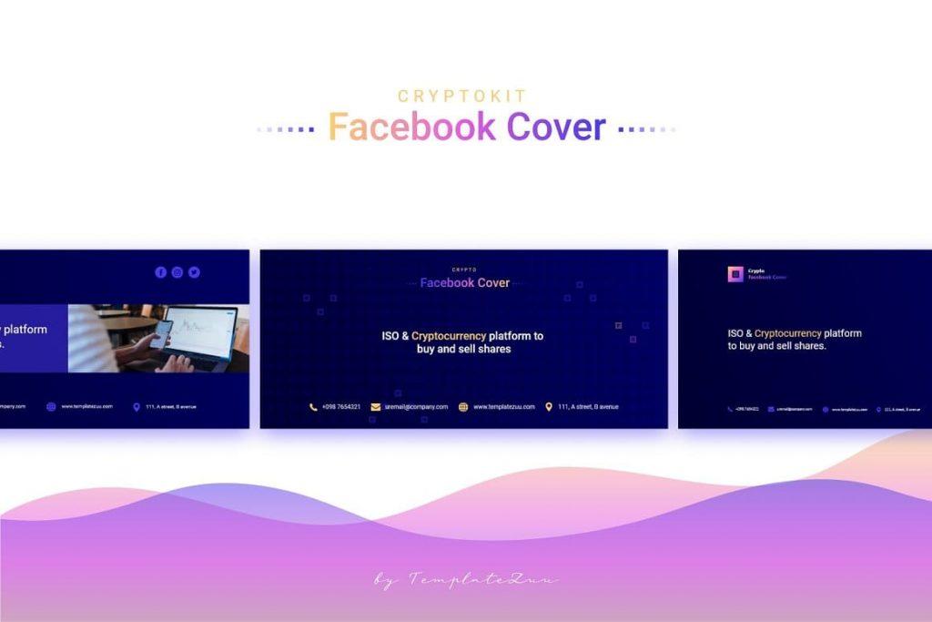 Contact Crypto Facebook Cover.