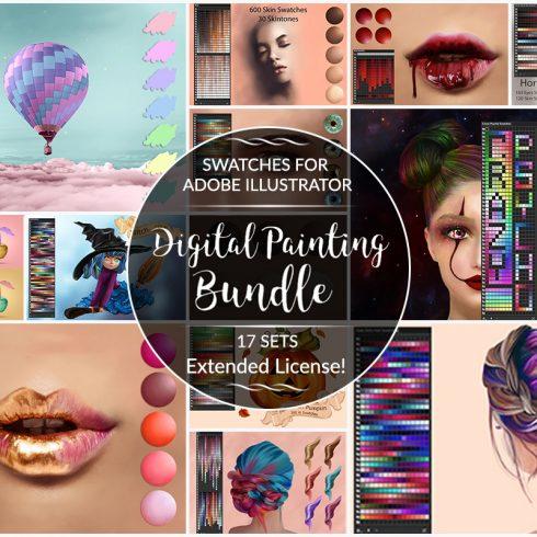 Digital Painting Assets - Portrait