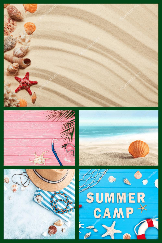 Summer Clipart & Photos Collection - 100 Items - MasterBundles - Pinterest Collage Image.