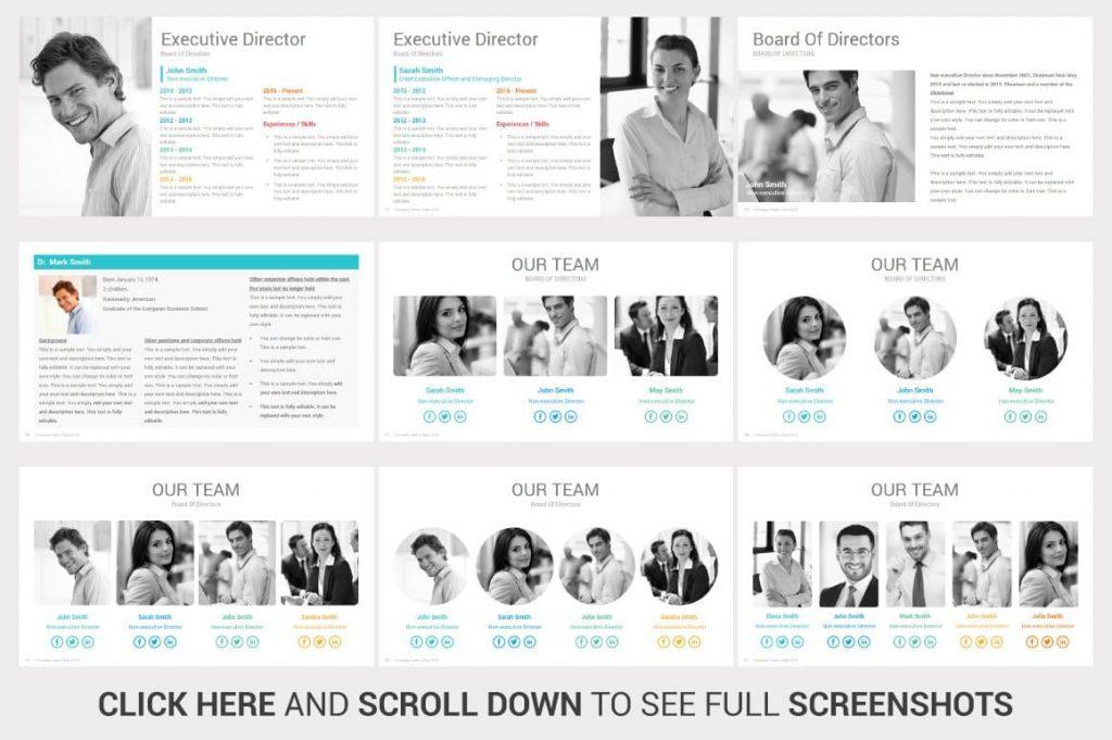 Our Team Investors PowerPoint Pitch Decks.