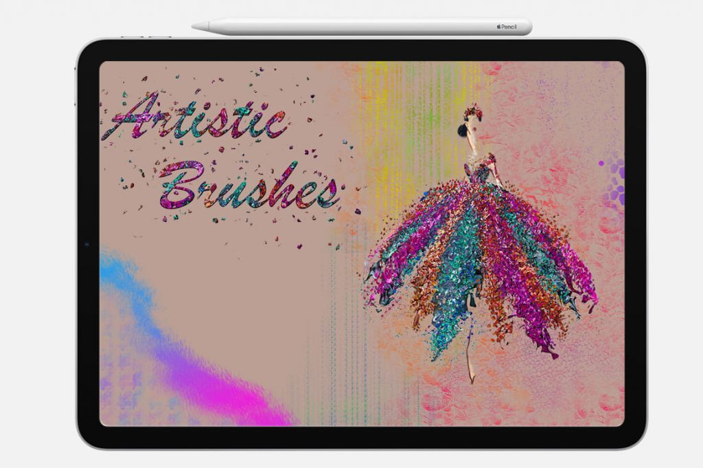 Artistic brushes Digital Painting Assets - Portrait.