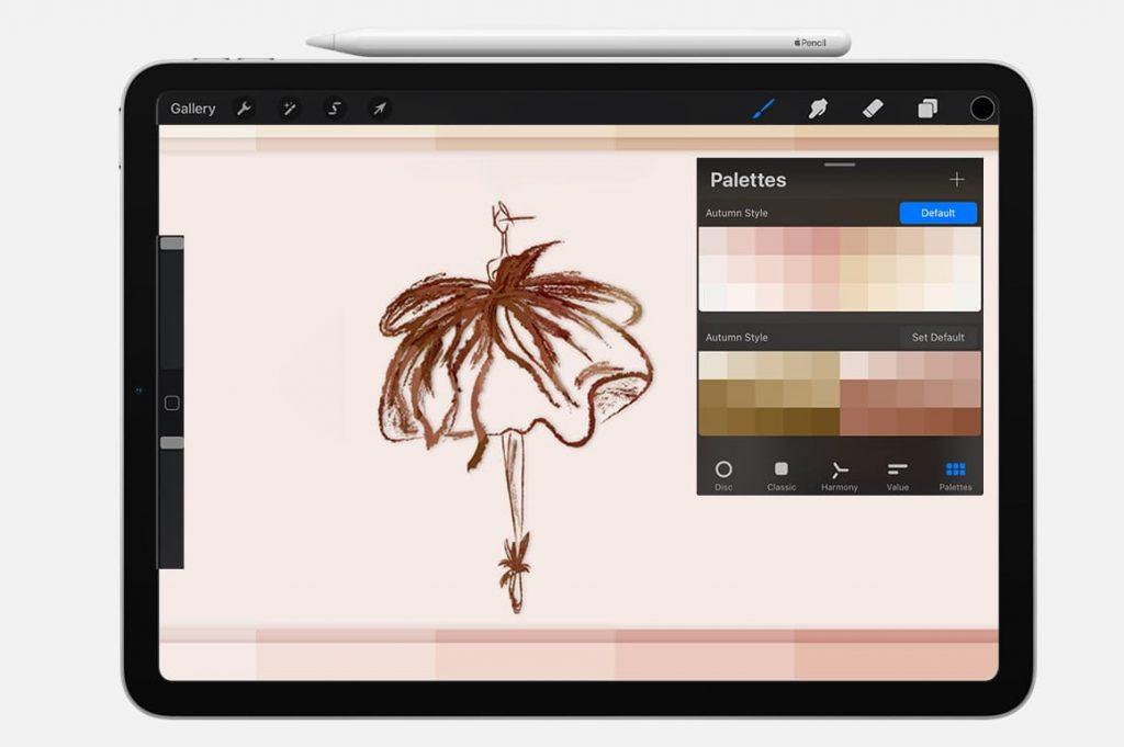 Autumn Style for Digital Painting Assets - Portrait.