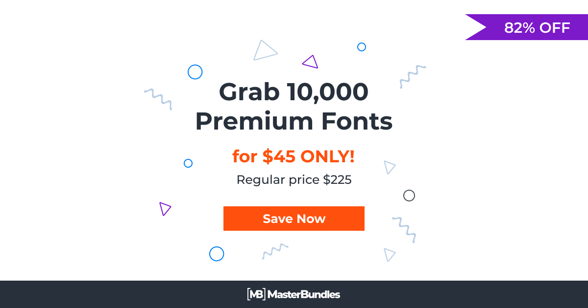 The Ultimate Font Collection: 10,000 Premium Fonts
