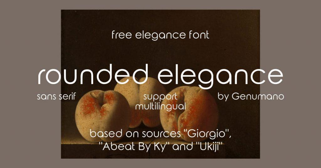 Free elegance font Facebook image by MasterBundles.