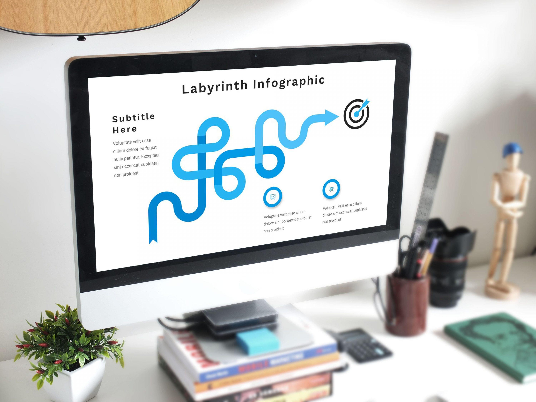 Concept Infographic Presentation by MasterBundles preview mockup image.