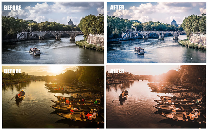If you are looking for options for processing landscapes or photos with street beauties.