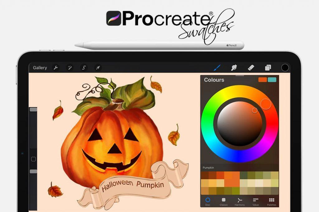 Pumpkin Cartoon Painting Assets.