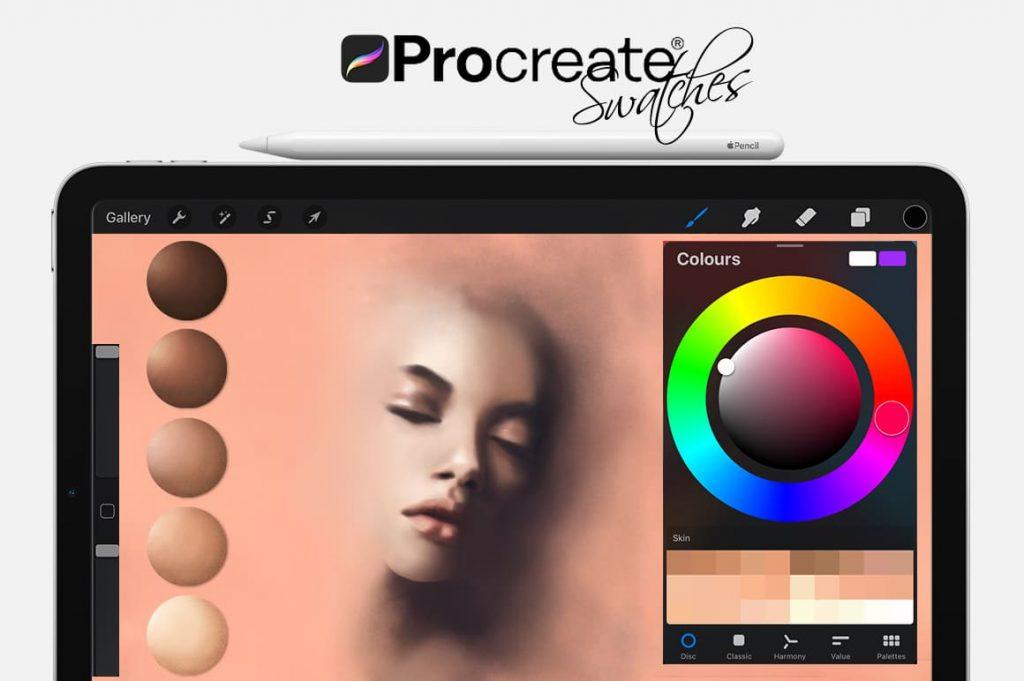 Skin Digital Painting Assets - Portrait.