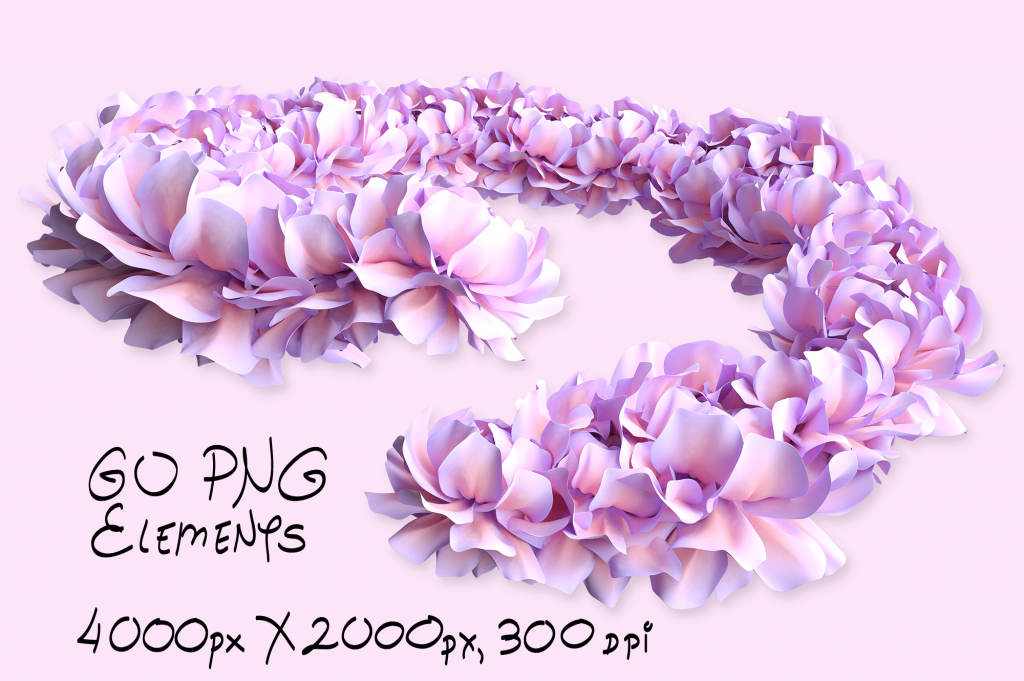 Go PNG Elements Spring Cartoon Painting Assets.