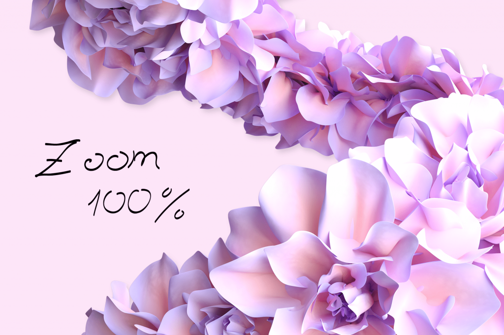 Zoom 100% Spring Cartoon Painting Assets.