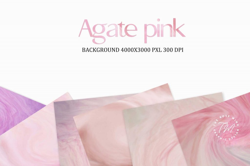 Pink digital paper Agata.