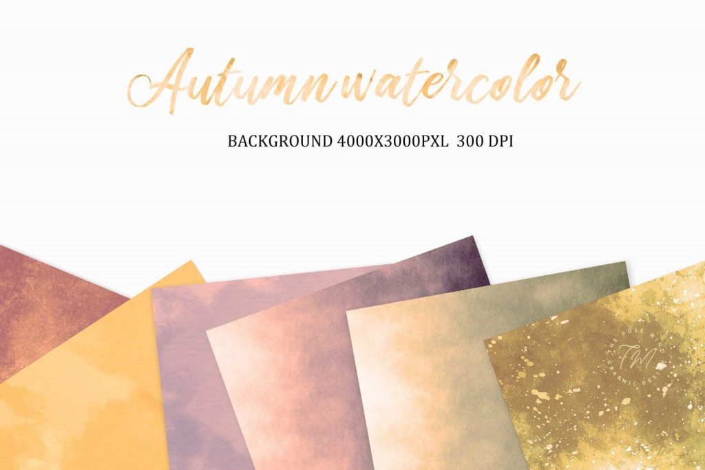 Backgrounds watercolor.