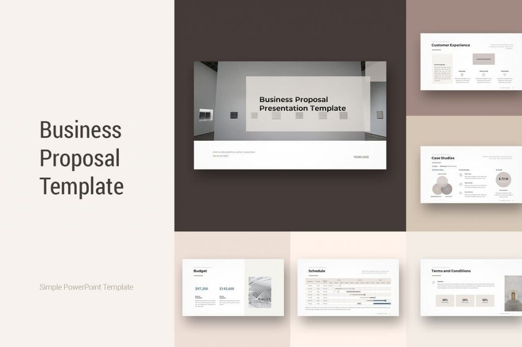 Cover Business Proposal Template.