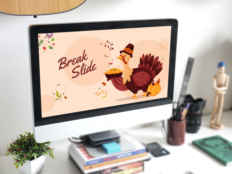 Thanksgiving Presentation: Powerpoint, Keynote, Google Slides by MasterBundles desctop preview mockup image.