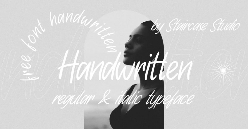 Facebook image for Free font handwritten by MasterBundles.