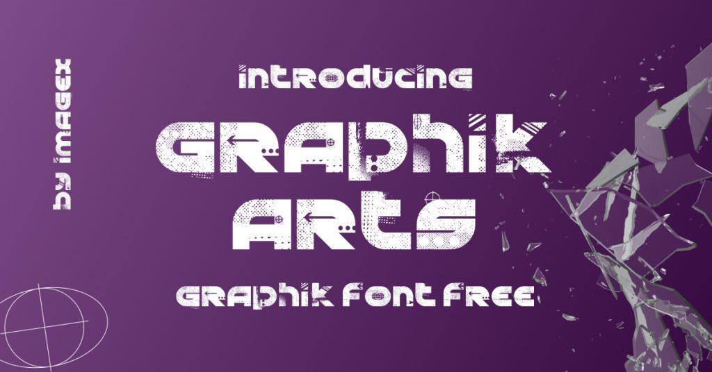 Graphik Font Free Facebook image by MasterBundles.