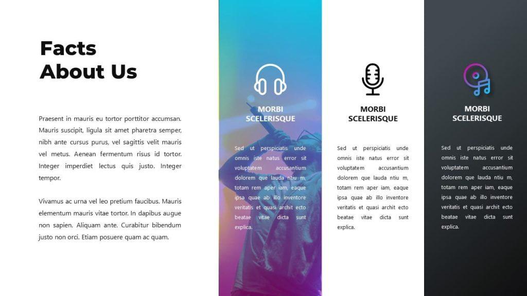 Group Fact Slide Music PowerPoint Presentation.