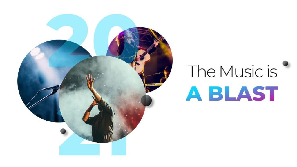 The music is a blast Musical PowerPoint presentation.