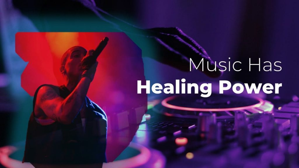 Music has healing power Musical PowerPoint presentation.
