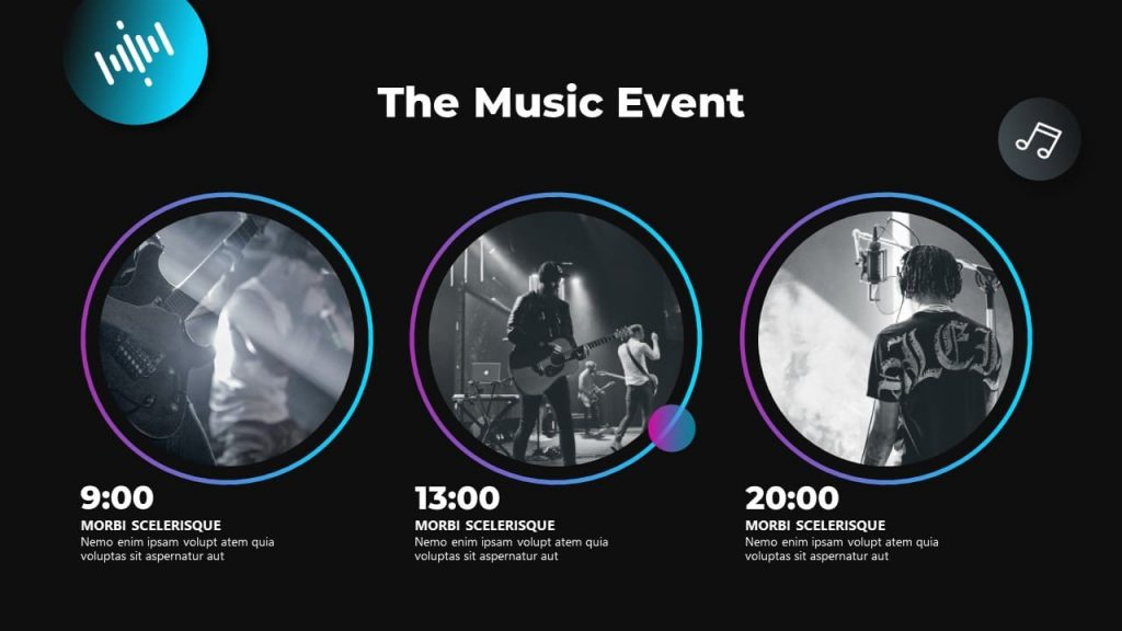 Musical event Musical PowerPoint presentation.