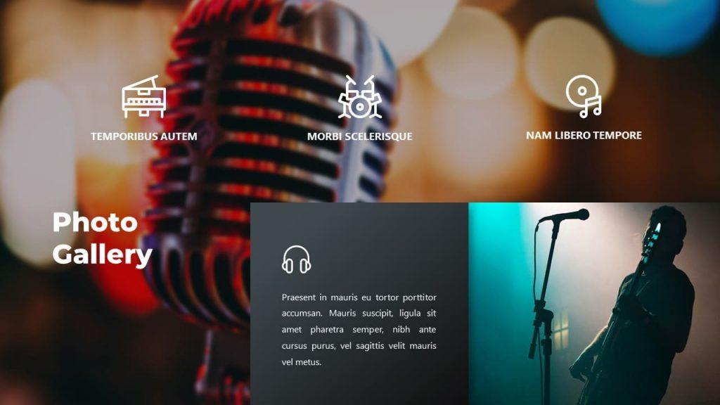 A few more photos. Musical PowerPoint presentation.