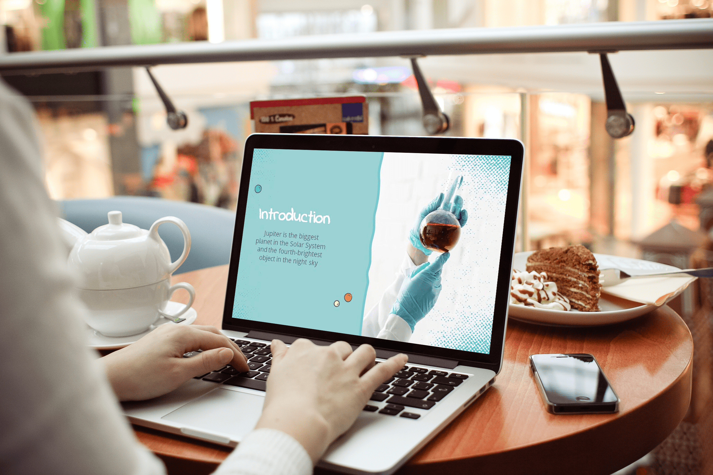 Free Science Education Center PowerPoint Template by MasterBundles notebook.