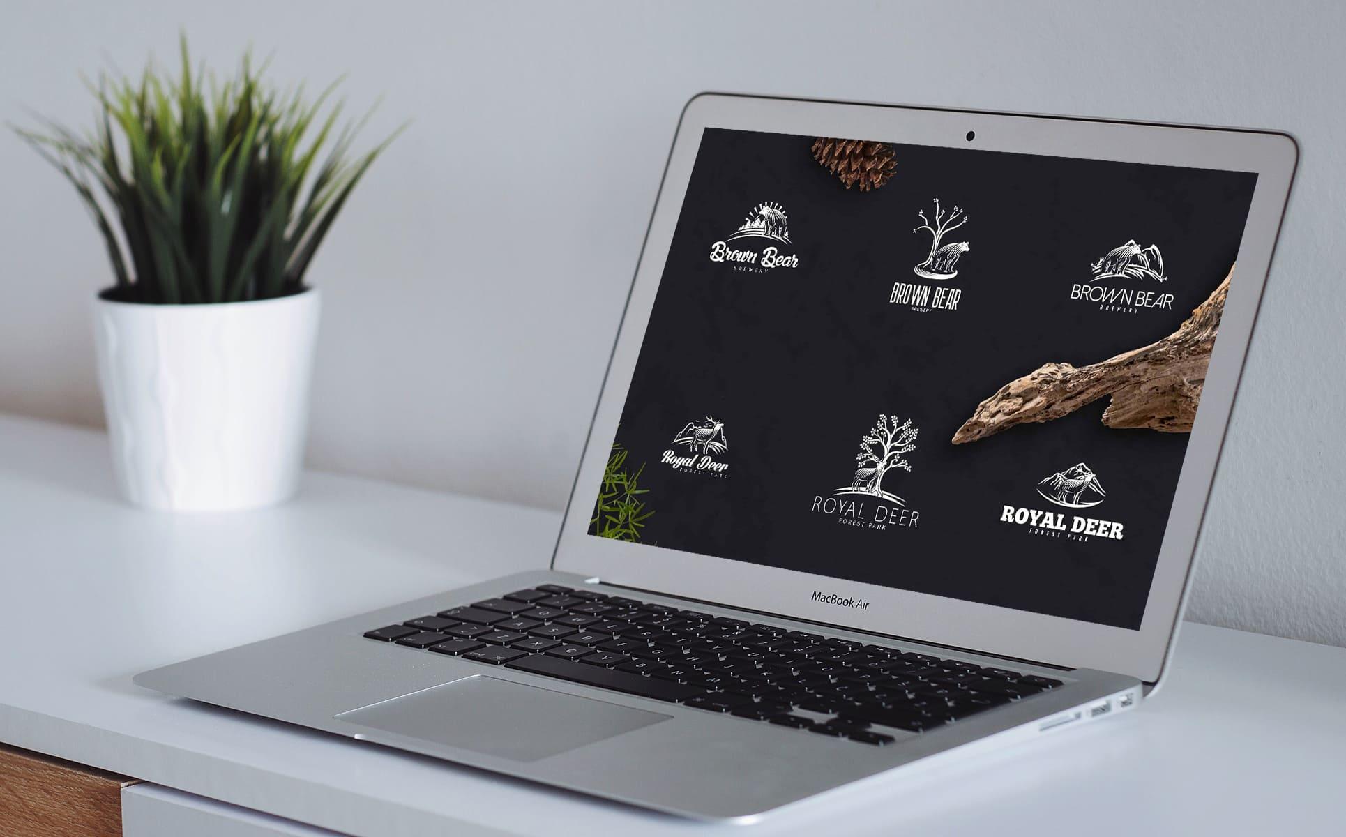 Nature Creation Kit: Logo, Elements by MasterBundles preview mockup image.