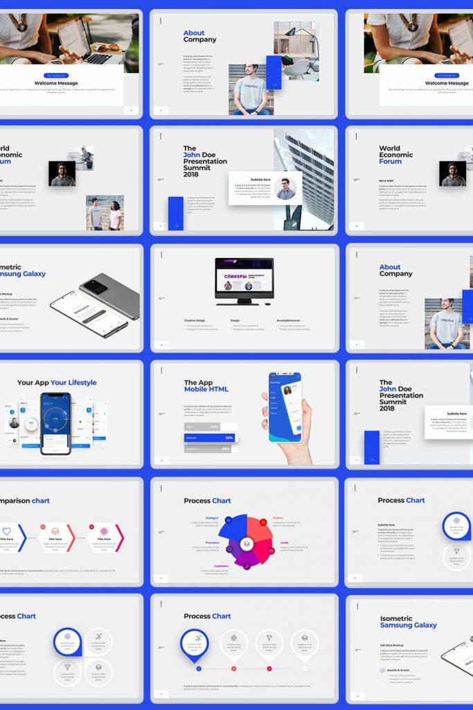Voodoo Presentation 4.0 UPDATED by MasterBundles Pinterest Collage Image.