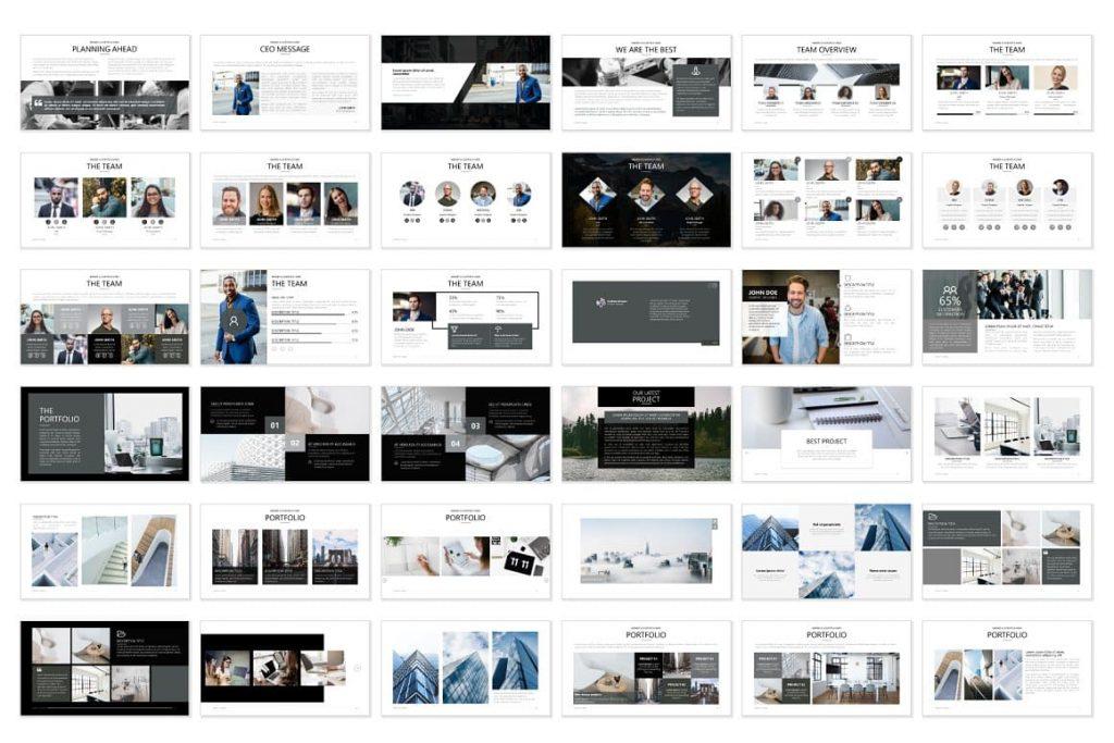 36 slides Pitch Deck - Powerpoint Presentation.
