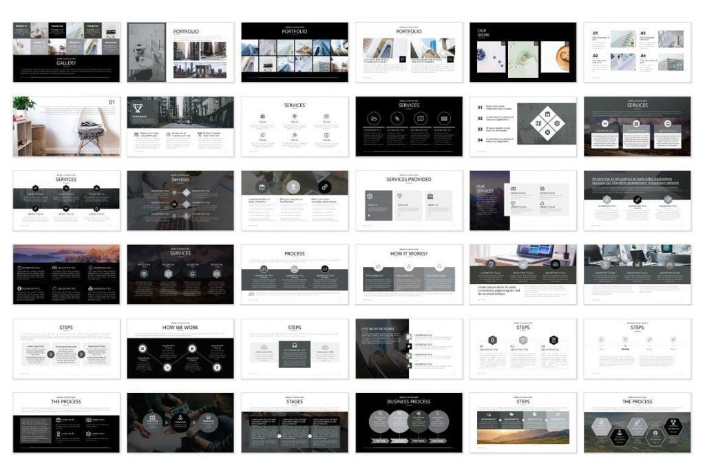 Pitch Deck Preview Slides - Powerpoint Presentation.