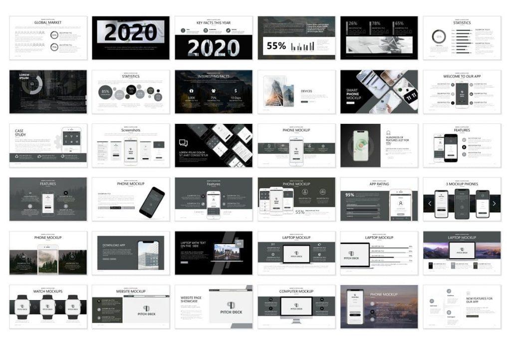 Pitch Deck Content - Powerpoint Presentation.