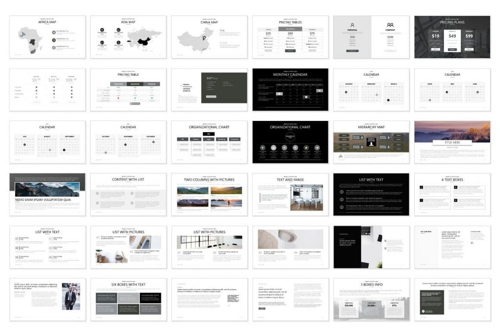 Slide Contents Pitch Deck - Powerpoint Presentation.