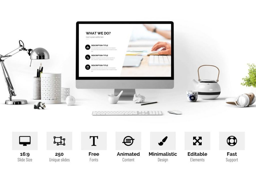The main features of Pitch Deck are Presentation Dashboard.
