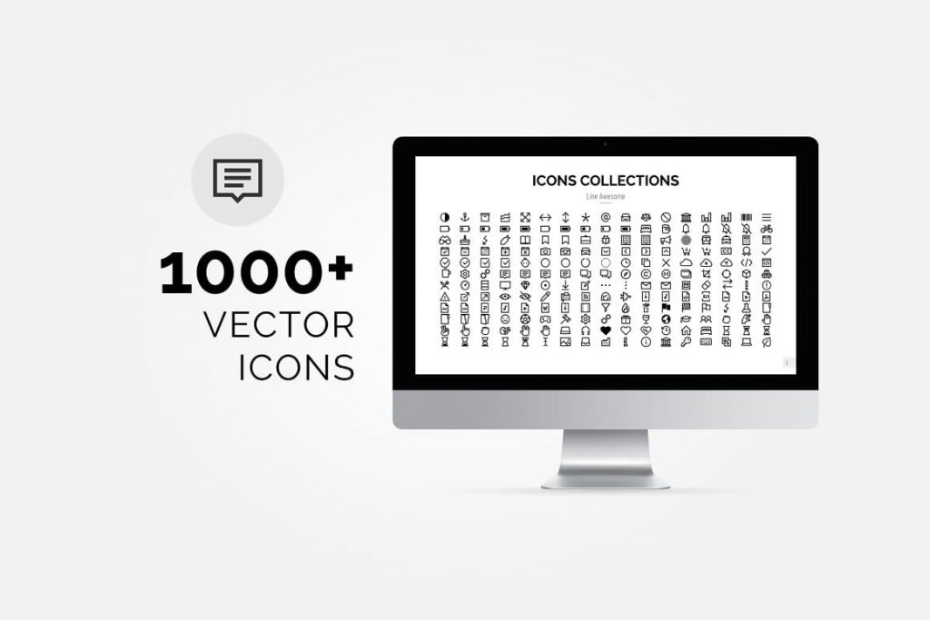 1000+ Vector Pitch Deck Icons - Presentation Dashboard.
