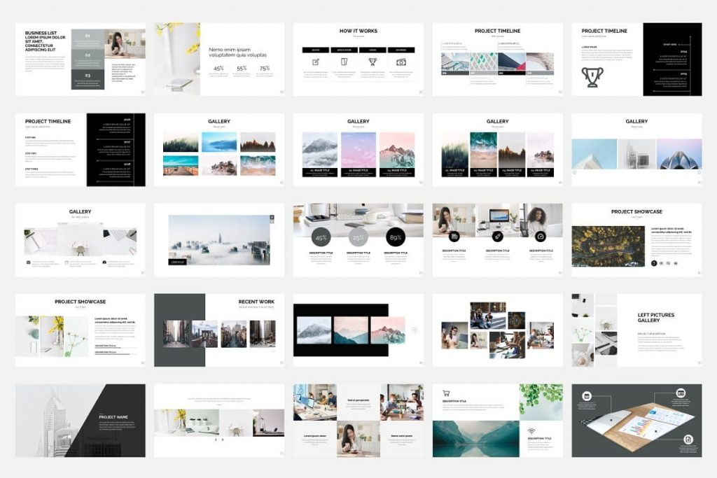 Pitch Deck Slides - Presentation Dashboard.