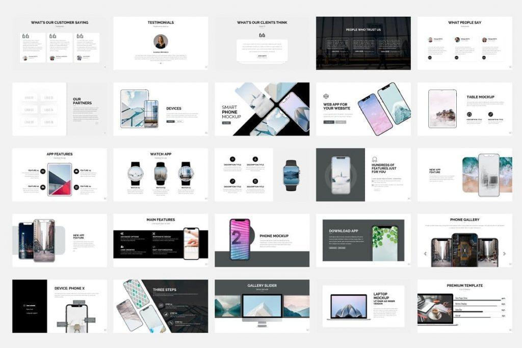 Pitch Deck Content - Presentation Dashboard.