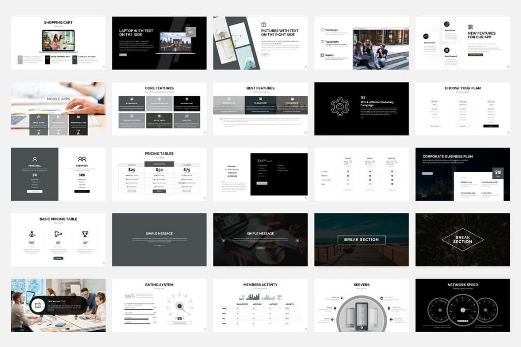 25 slides for preview. Pitch Deck - Presentation Dashboard.