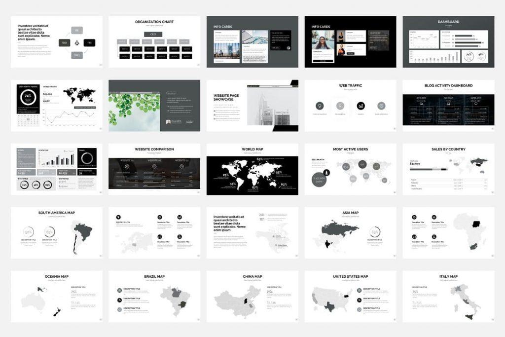 Pitch Deck - Presentation Dashboard.